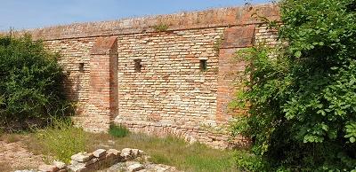 Lazzaretto Nuovo - mura esterne