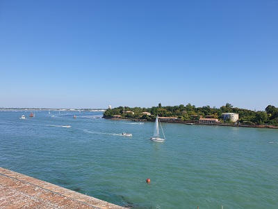Panorama dalla terrazza del Forte di Sant'Andrea