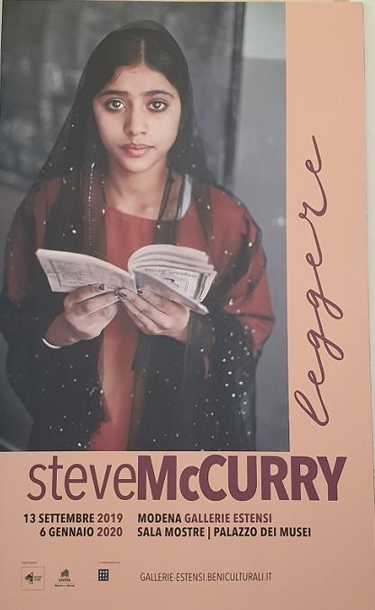 Steve McCurry - Leggere - Modena - fino al 6 Gennaio 2020