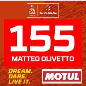 DAKAR 2020 - MATTEO OLIVETTO 155