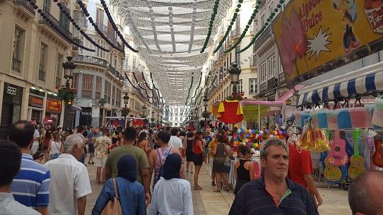 La fiesta de Verano a Malaga