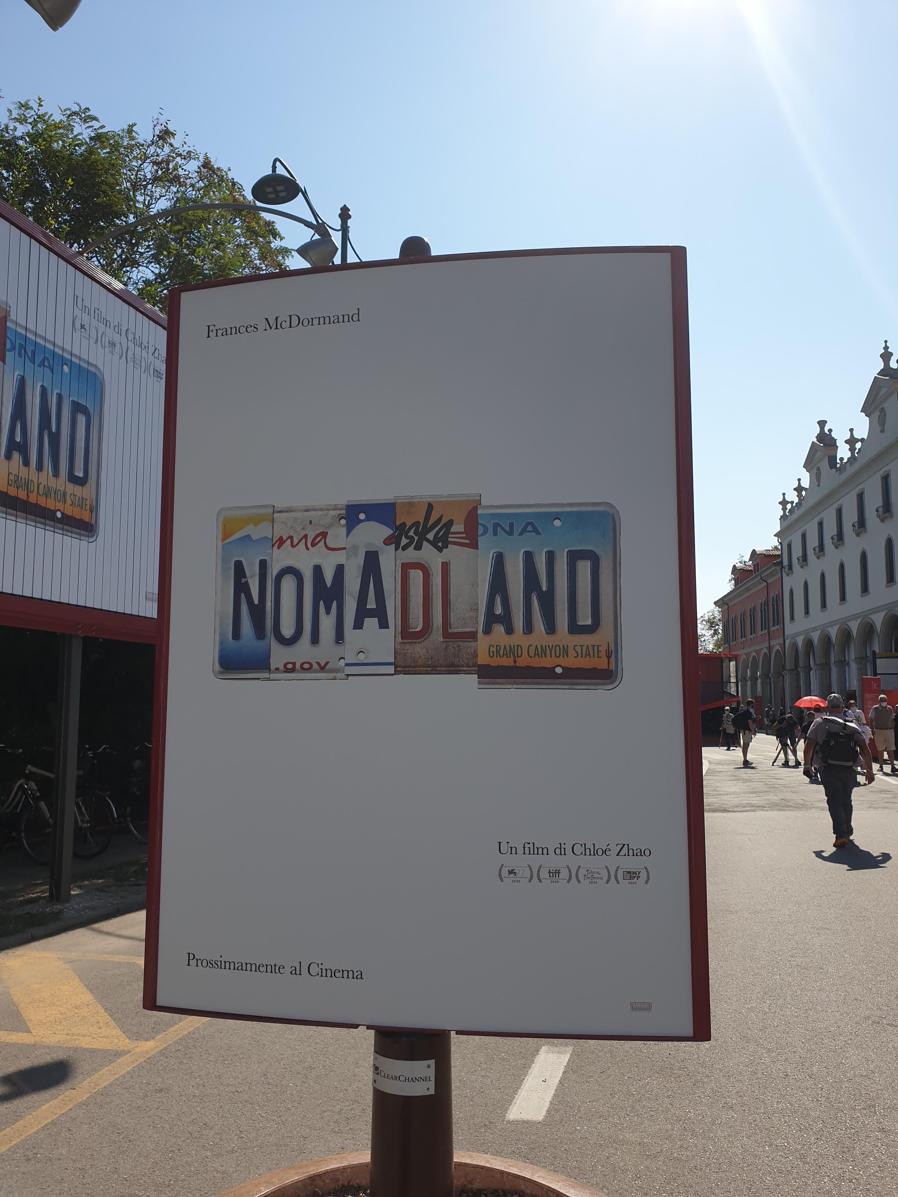 Nomadland - Mostra del Cinema di Venezia - 77' edizione