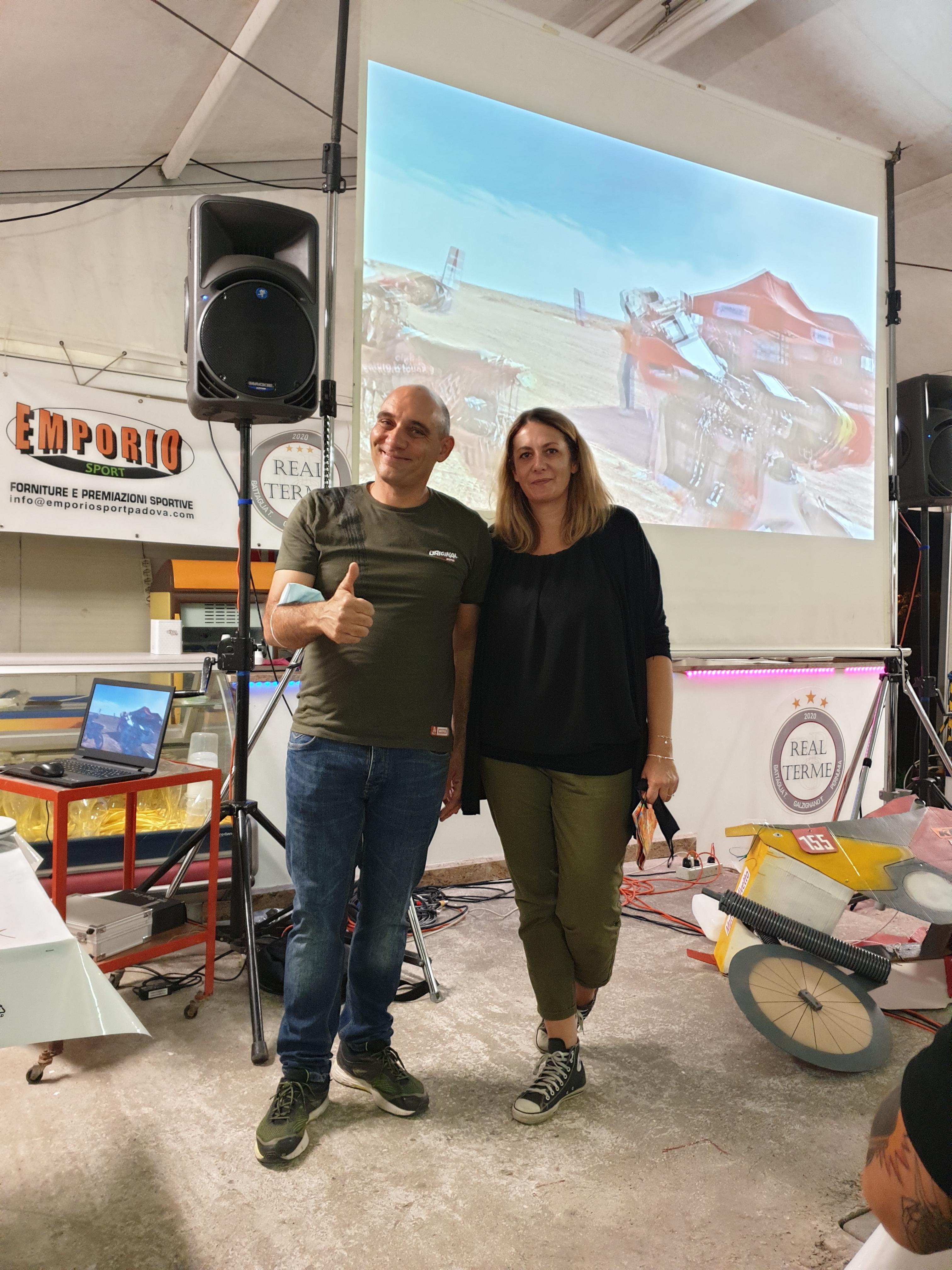 Matteo&Lisa Dakar2020