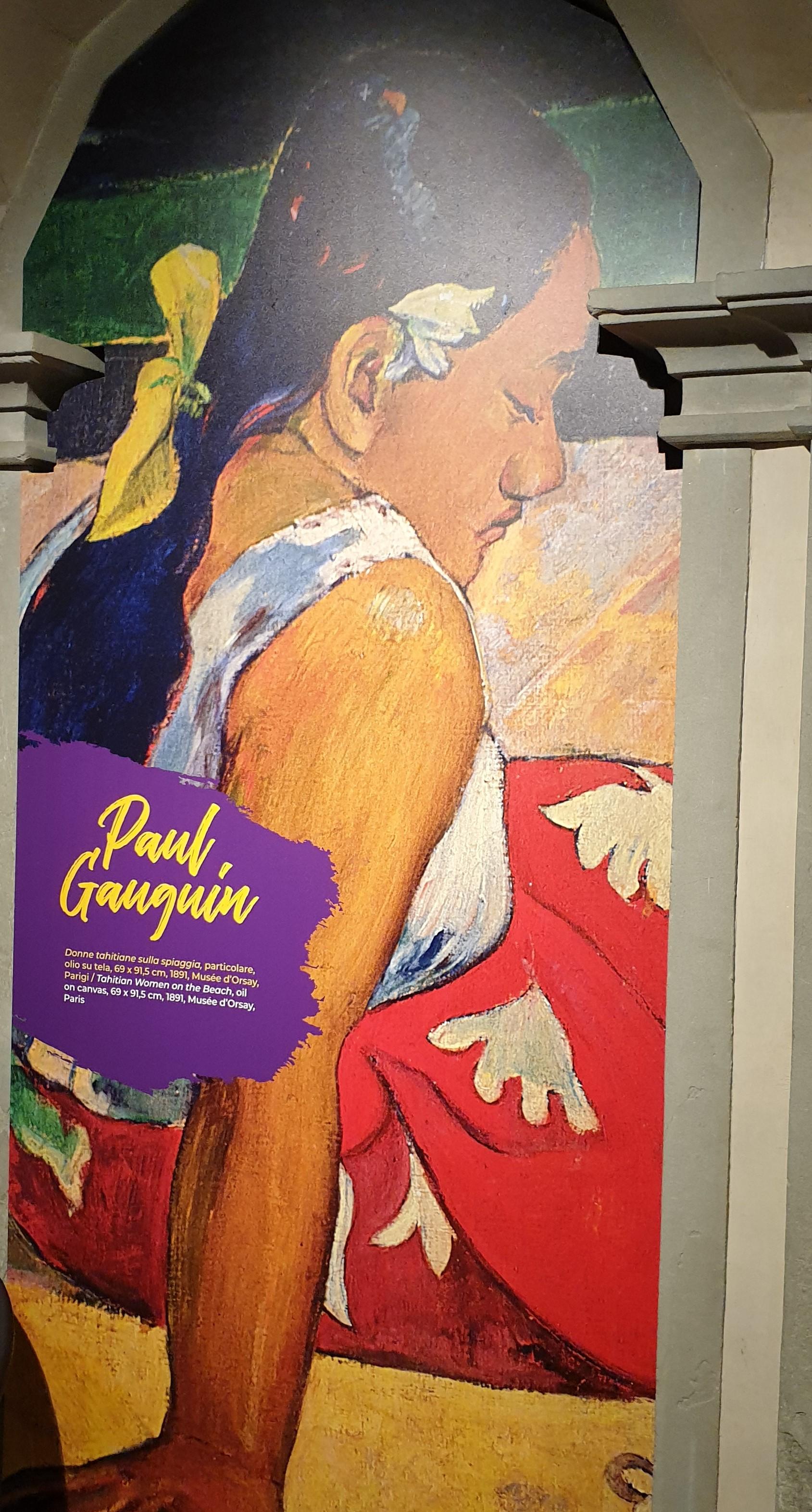 PAUL GAUGIN - FIRENZE