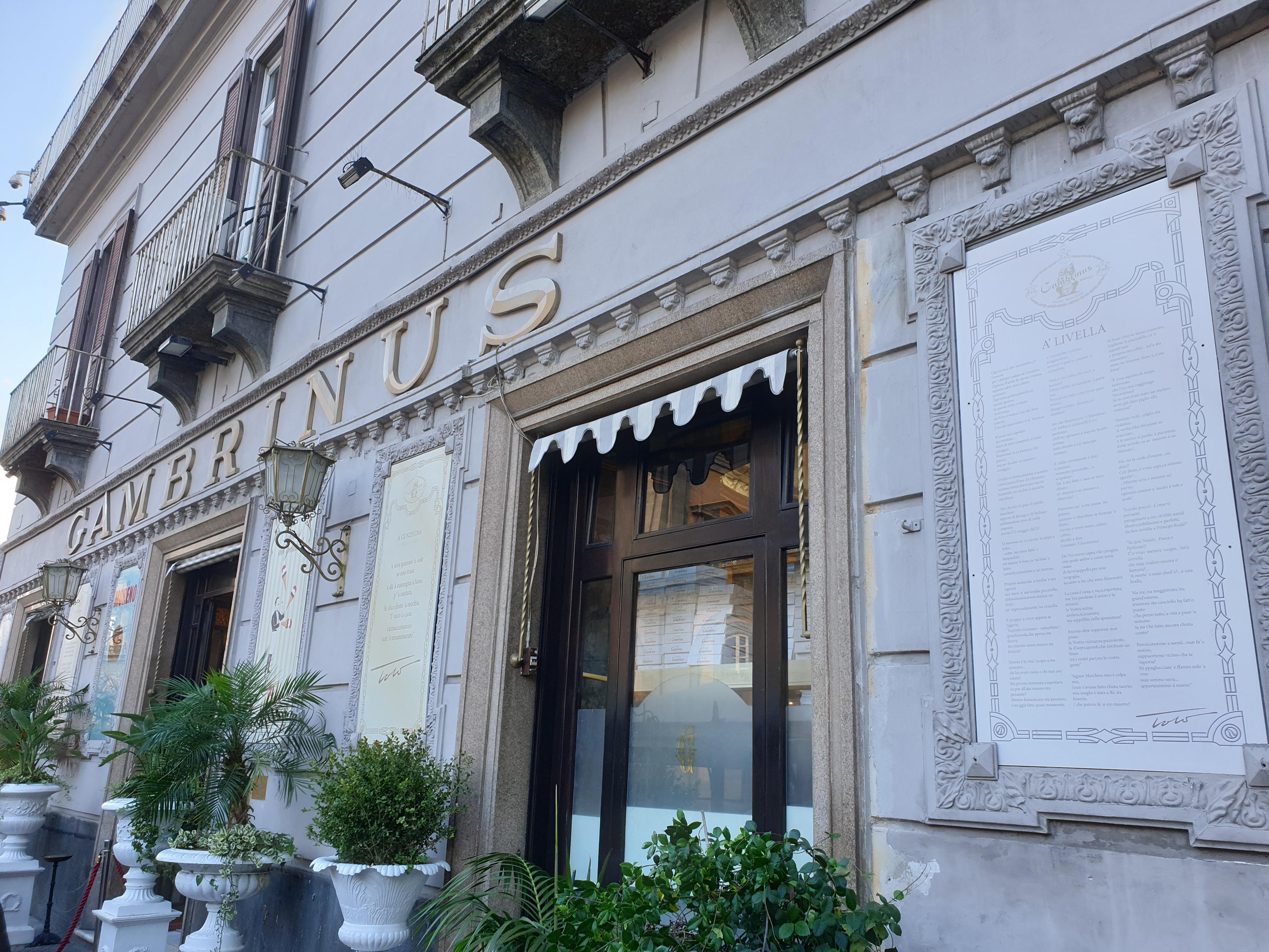 Gran Caffè Gambrinus - Napoli