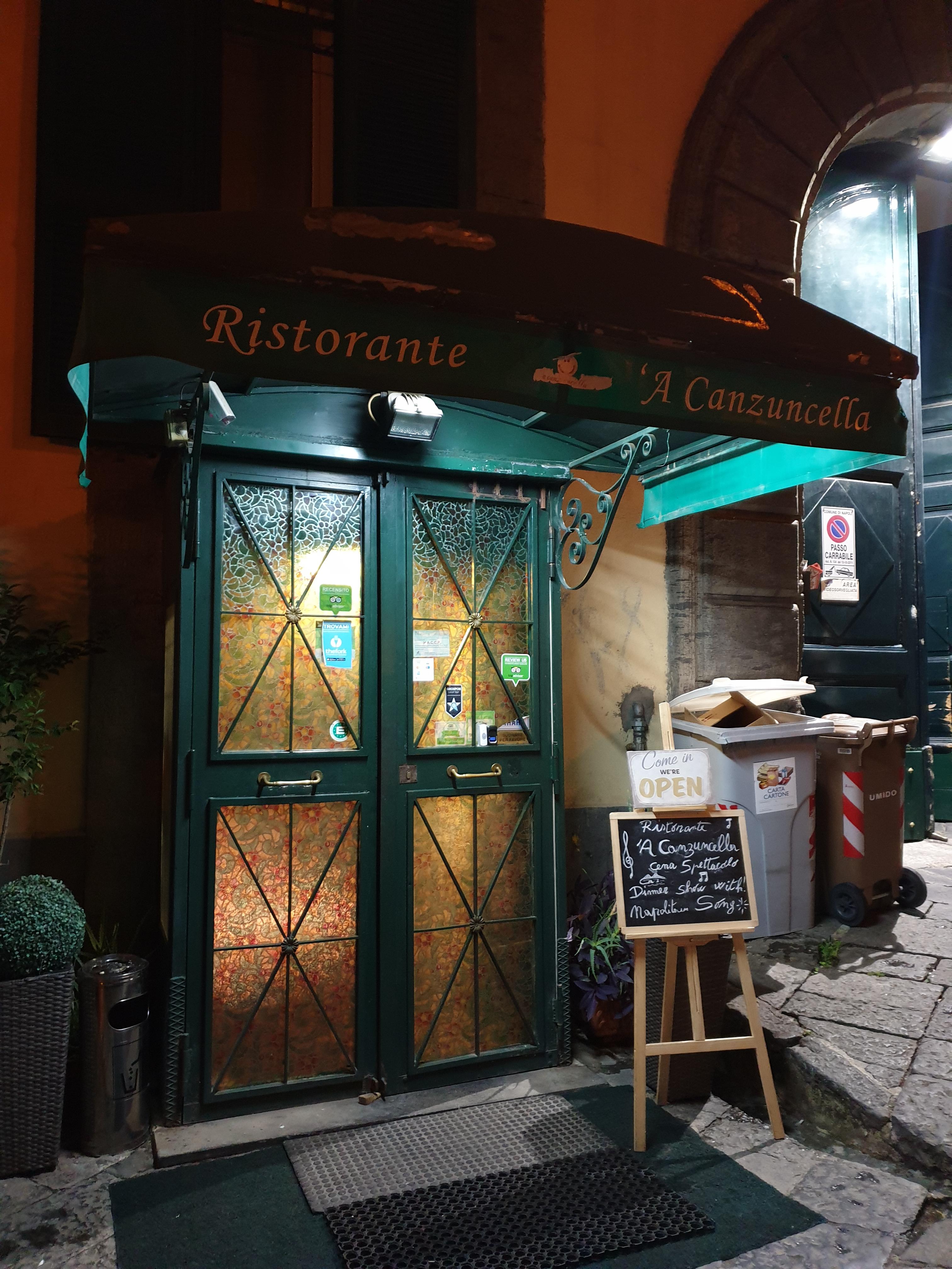 Ristorante 'A Canzuncella - Napoli