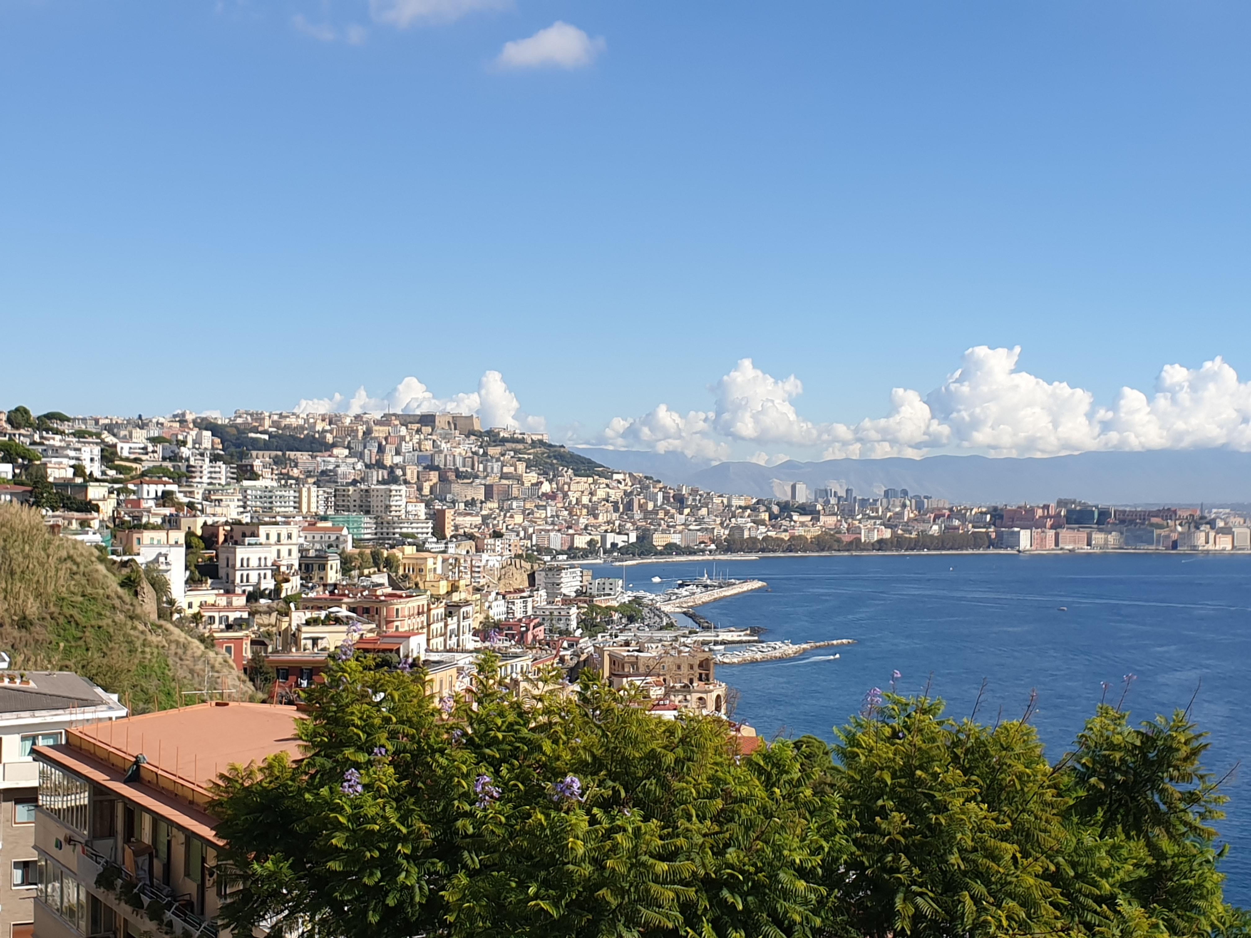 Napoli vista da Posillipo