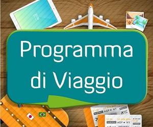 Programma di viaggio - Sosteniamo le piccole attività