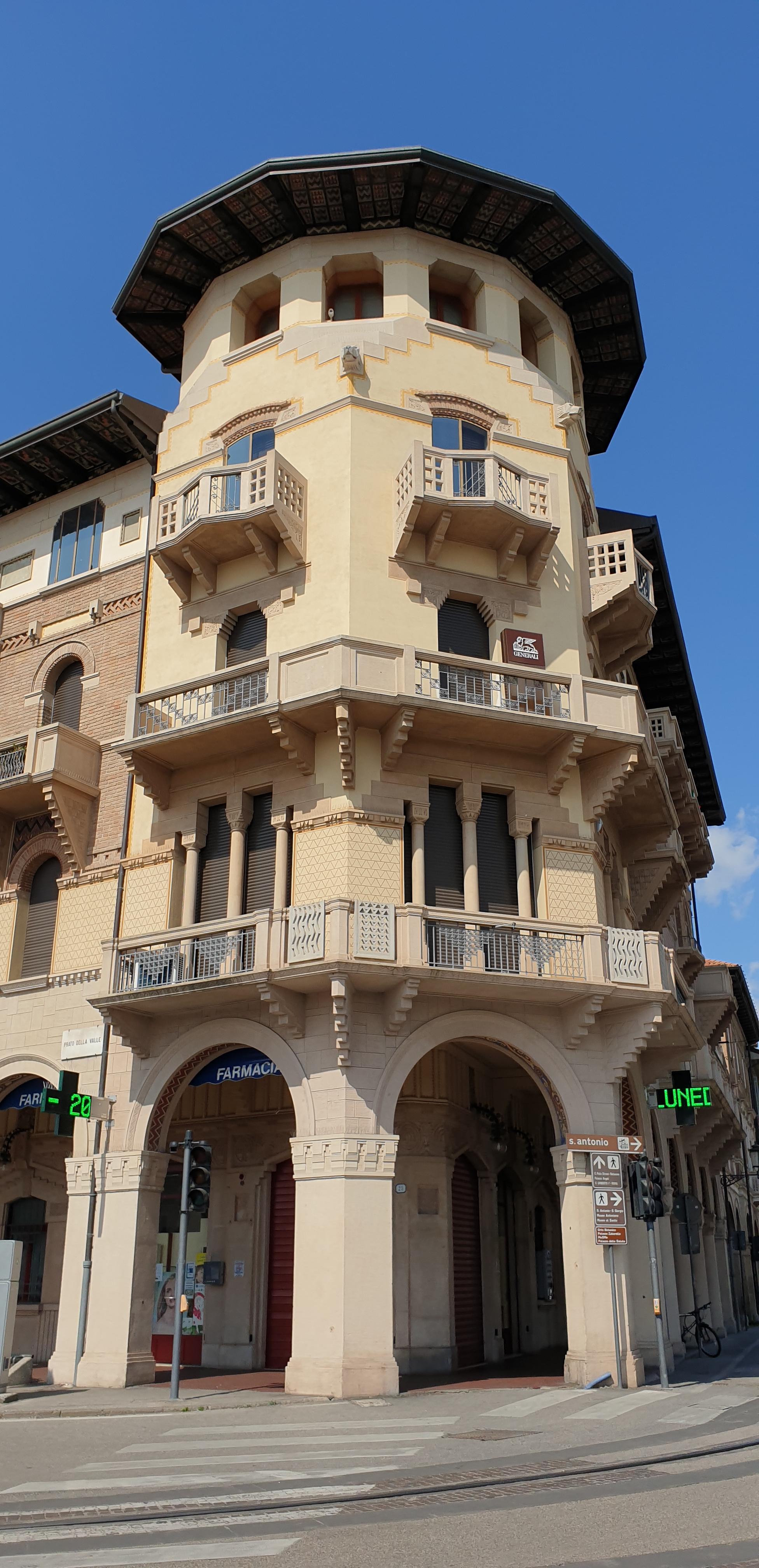 Palazzo Sacerdoti - Prato della Valle - Padova