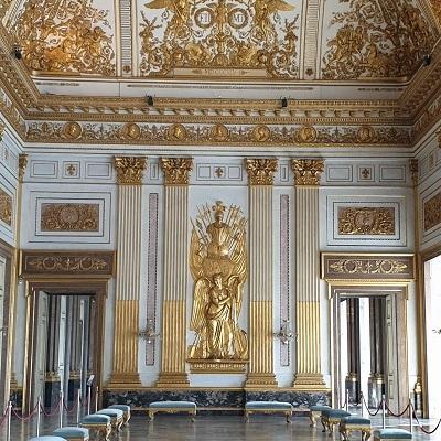 La Reggia di Caserta - la sala del trono