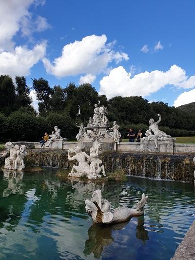 la Reggia di Caserta - il parco