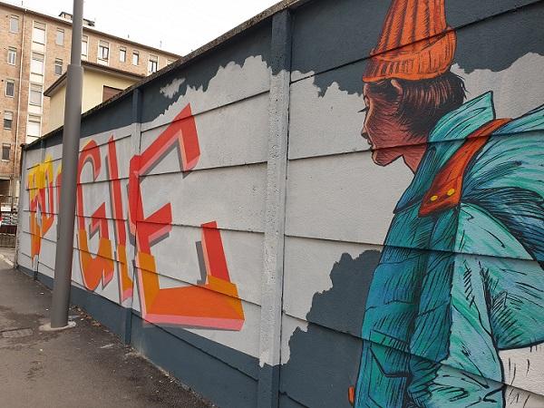 Street art a Padova - Boogie