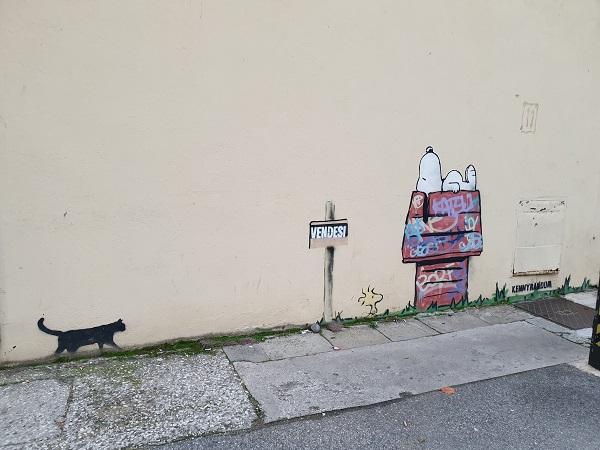 Street art a Padova - Kenny Random
