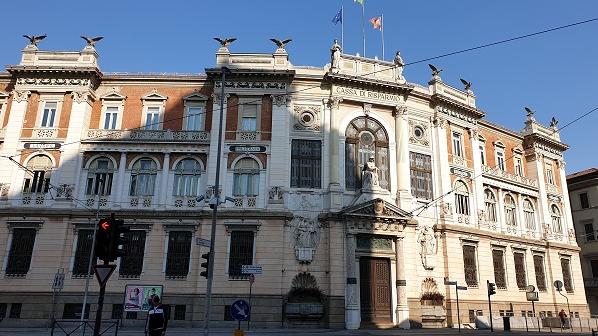 Cassa di Risparmio - Palazzo Donghi-Ponti