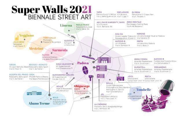 Super walls map